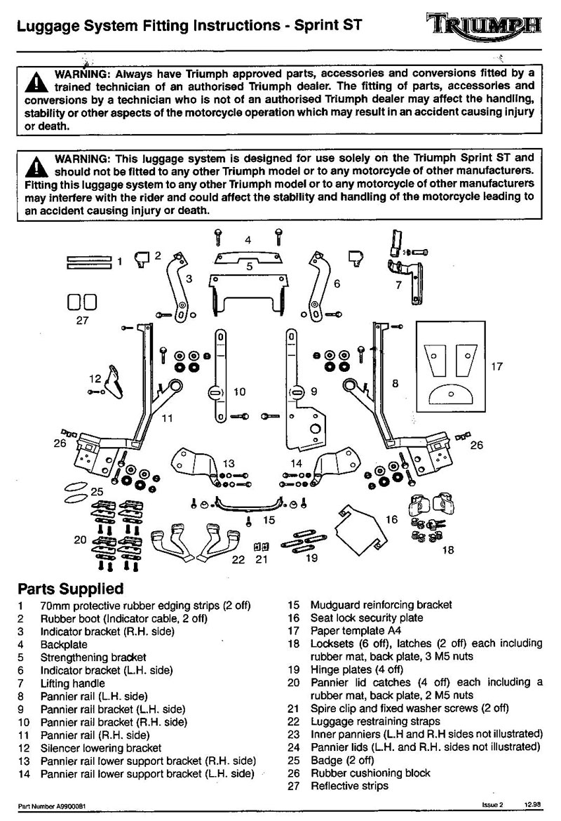 Triumph Sprint St Wiring Diagram Schematic Diagrams Daytona 600 2001 Circuit And Hub U2022